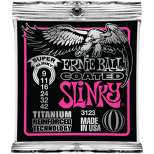 Ernie Ball Coated Titanium RPS Super Slinky .009 - .042 Guitar Strings