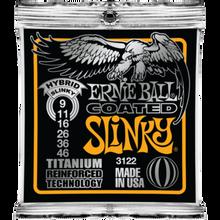 Ernie Ball Coated Titanium RPS Hybrid Slinky .009 - .046 Guitar Strings