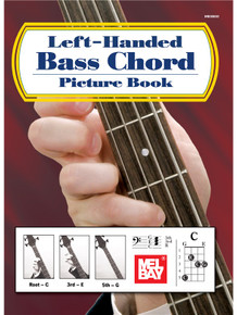 Left-Handed Bass Chord Picture Book - William Bay