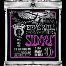 Ernie Ball Coated Titanium RPS Power Slinky .011 - .048 Guitar Strings