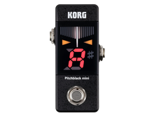 Korg Pitchblack Mini Pedal Guitar & Bass Tuner