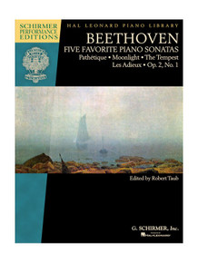Beethoven Five Favourite Piano Sonatas