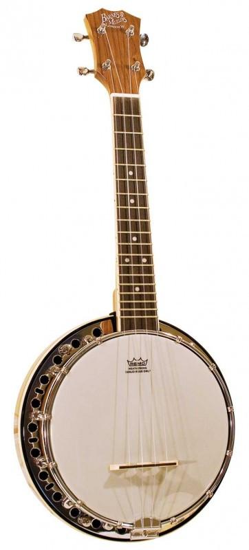 Barnes & Mullins UBJ1 Ukulele Banjo with Resonator - RST Music