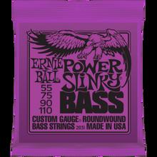 Ernie Ball Power Slinky .055 - .110 Nickel Wound Bass Guitar Strings