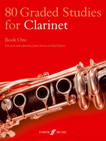 80 Graded Studies For Clarinet Book 1: Paul Harris