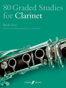 80 Graded Studies For Clarinet Book 2: Paul Harris