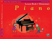 Alfred's Basic Graded Piano - Lesson Book 1 Elementary