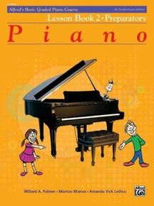 Alfred's Basic Graded Piano - Lesson Book 2 Preparatory