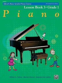 Alfred's Basic Graded Piano - Lesson Book 3 Grade 1