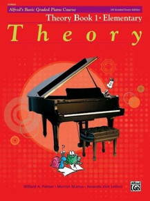 Alfred's Basic Graded Piano - Theory Book 1 Elementary