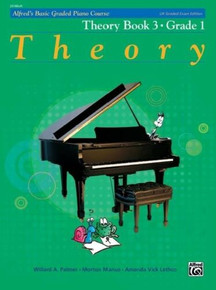 Alfred's Basic Graded Piano - Theory Book 3 Grade 1