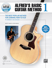 Morton Manus: Alfred's Basic Guitar Method 1 (Third Edition)