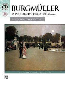 Burgmuller: 25 Progressive Pieces Op. 200 - Alfred