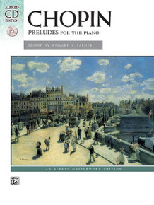 Alfred: Chopin Preludes for the Piano - Book & CD