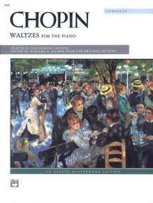 Chopin Waltzes for the Piano - Book & CD Alfred