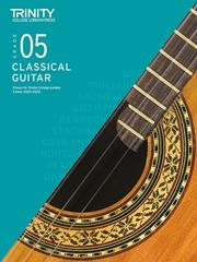 Trinity College London: Classical Guitar 2020-23 - Grade 5