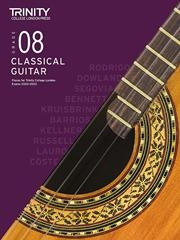 Trinity College London: Classical Guitar 2020-23 - Grade 8