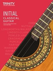 Trinity College London: Classical Guitar 2020-23 - Initial
