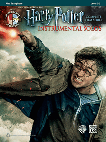 Harry Potter: Instrumental Solos: Alto Sax