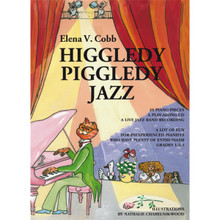 Elena Cobb - Higgledy Piggledy Jazz for Piano