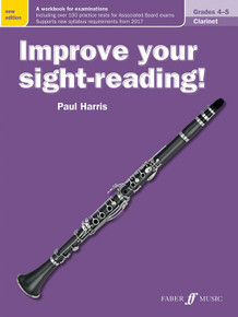 Improve Your Sight Reading - Clarinet Grade 4-5