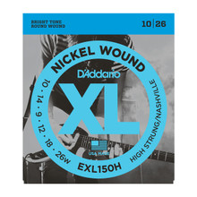 D'Addario EXL150H High Strung/Nashville Tuning .010 - .026w Nickel Wound Electric Guitar Strings