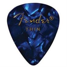 Pack of 12 Fender Blue  Medium Premium Plectrum