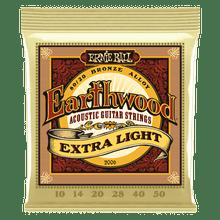 Ernie Ball Earthwood 80/20 Bronze Extra-Light Strings 10-50
