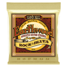 Ernie Ball Earthwood 80/20 Bronze Rock&Blues Strings 10-50