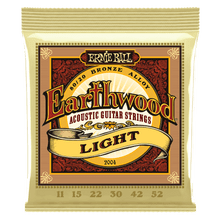 Ernie Ball Earthwood 80/20 Bronze Light Strings 11-52