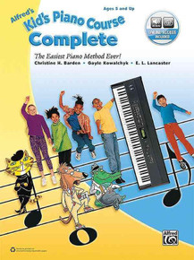 Kid's Piano Course by Alfred