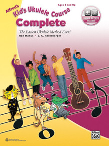 Kid's Ukulele Course by Alfred