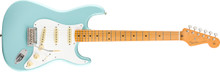 Fender Vintera 50s Modified Stratocaster Electric Guitar - Daphne Blue