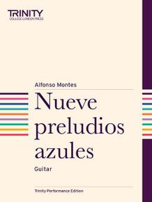 Nueve Preludios Azules - Guitar TCL