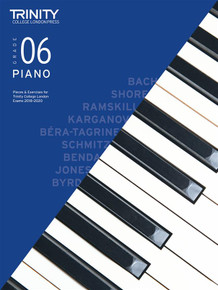 Trinity College London: Piano Exam 2020 - Book & CD Grade 6