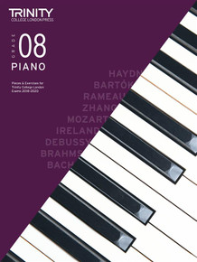 Trinity College London: Piano Exam 2020 - Book & CD Grade 8