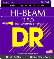 DR Strings EHR-11 Hi-Beam Electric Guitar Strings - 11-50