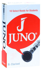Box of 10 Juno by Vandoren Bb Clarinet Reeds 2.5 Strength