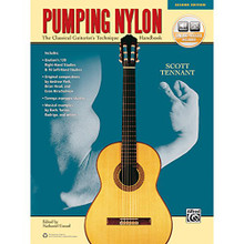 Pumping Nylon The Classical Guitarist's Technique Spiral Bound - Alfred