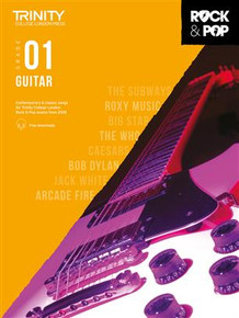 Rock & Pop 2018 - Guitar Grade 1 TCL