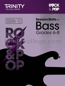 Rock & Pop Session Skills for Bass - Grade 6-8 TCL