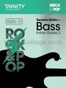 Rock & Pop Session Skills for Bass - Initial-Grade 2 TCL