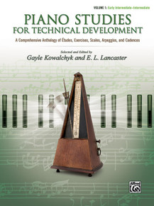 Piano Studies for Technical Development - Vol 1 Alfred