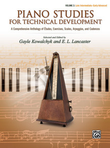Piano Studies for Technical Development - Vol 2 Alfred