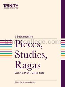 Pieces Studies Ragas - Violin - Trinity College London