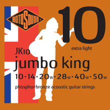 Rotosound Strings - JK10 Phosphor Bronze