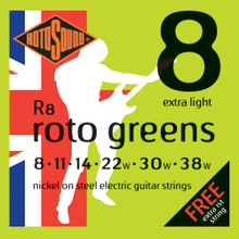 Rotosound Strings - R8 Green