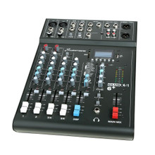 Studiomaster Club XS 6+ 6-Input Mixing Desk Console With Effects