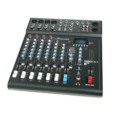 Studiomaster Club XS 8+ 8-Input Mixing Desk Console With Effects
