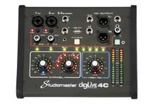Studiomaster Digilive 4C 4-Input Digial Mixing Desk Console